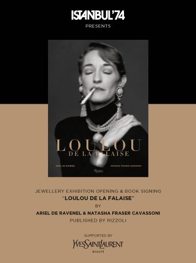 LOULOU DE LA FALAISE Jewerly Exhibition