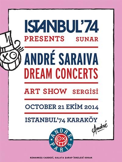 ANDRE SARAIVA - DREAM CONCERTS EXHIBITION